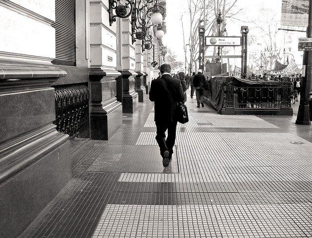 El hombre de la calle