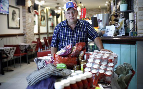 Los venezolanos tienen un héroe en España