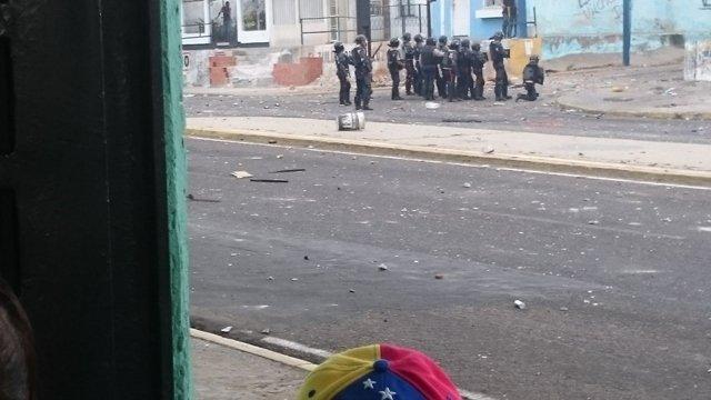 La batalla de Padilla: cinco horas atrapado en un edificio