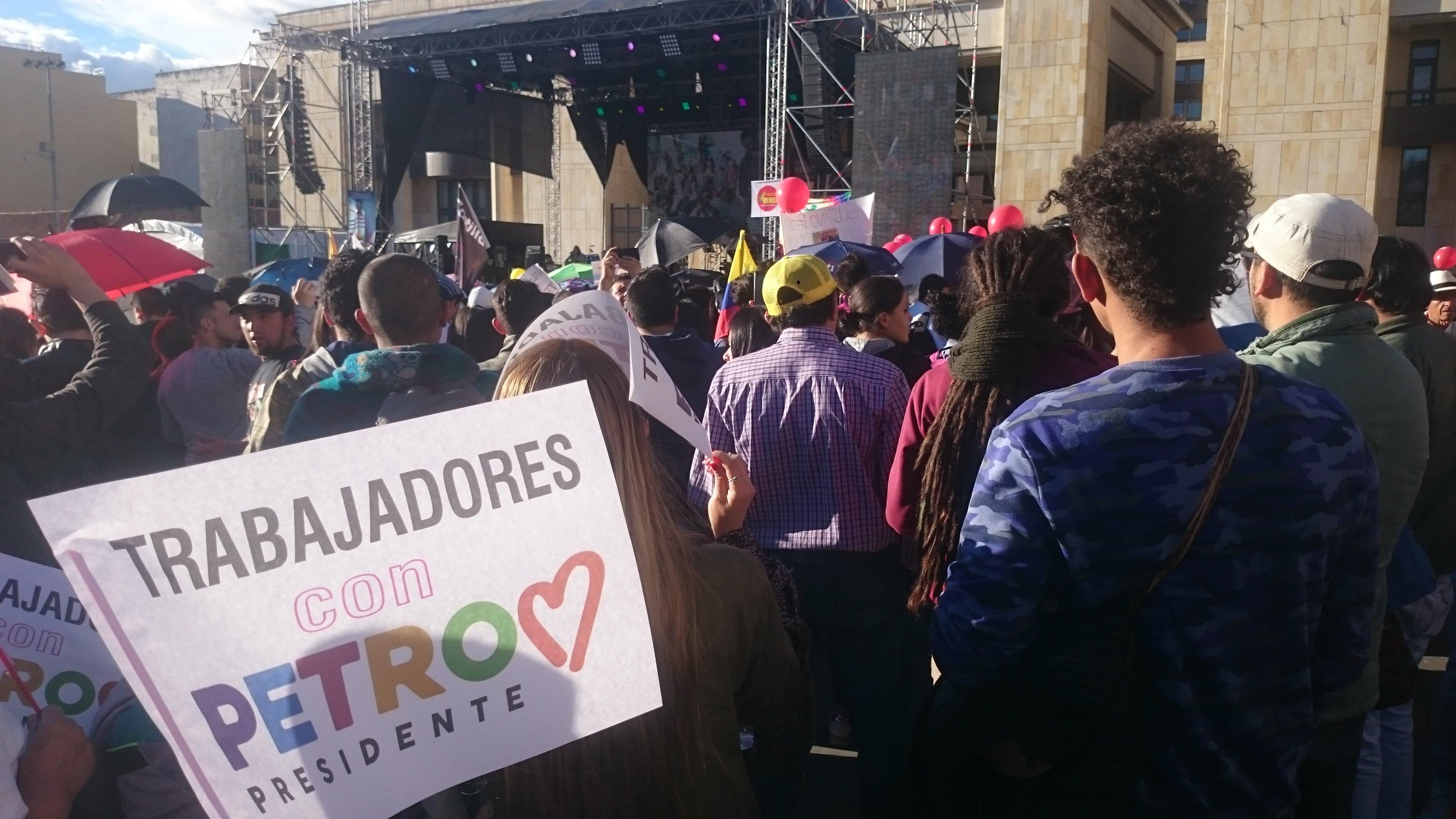 El tema Venezuela reinó en la campaña para segunda vuelta de elecciones colombianas