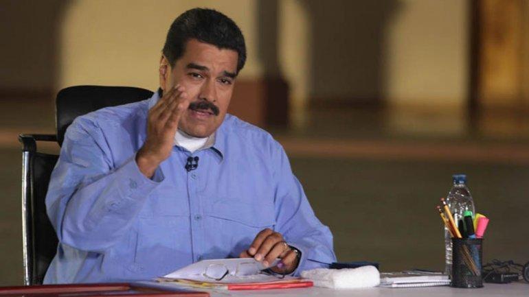Los cinco ceros de Maduro y su barriga