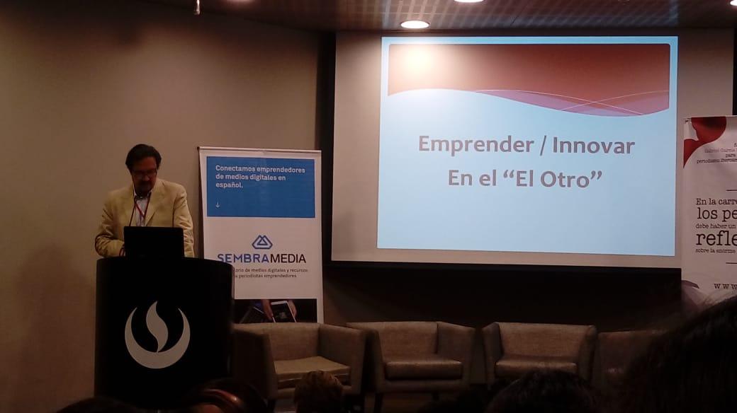 Estamos en El Otro: II encuentro Latinoamericano de Periodismo Emprendedor e Innovador