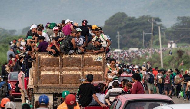 La caravana centroamericana