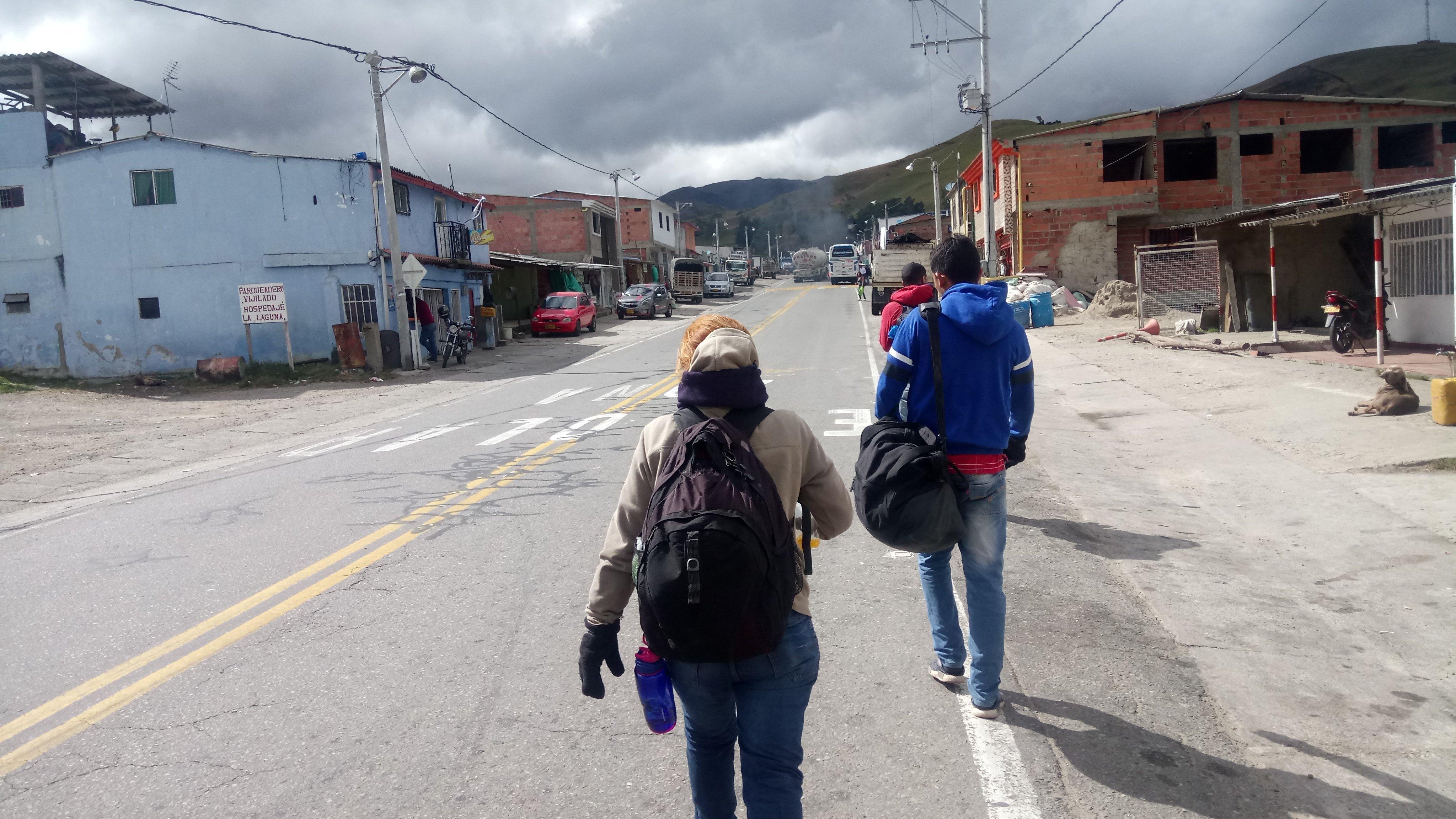 Suelas desaparecidas. Capítulo 1 | El viaje por Los Andes
